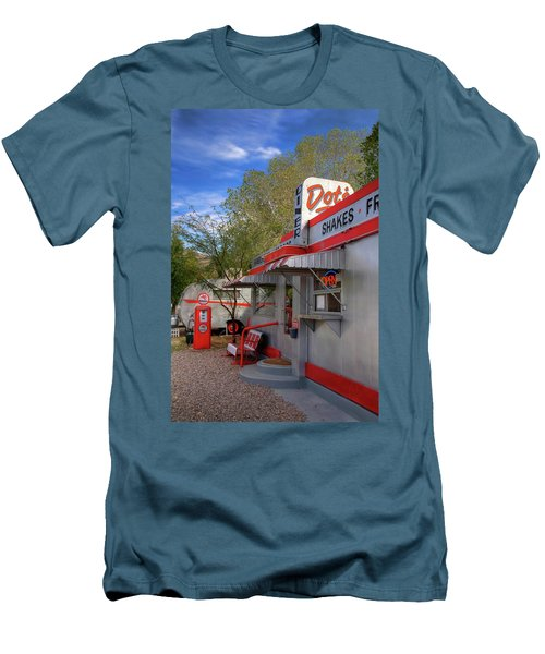Dot's Diner In Bisbee Men's T-Shirt (Athletic Fit)