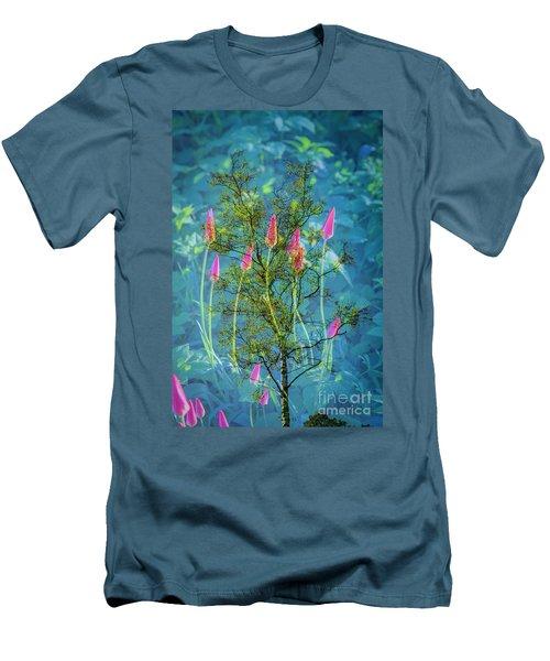 Close Encounters-2 Men's T-Shirt (Slim Fit)