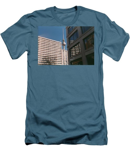 Downtown Berlin Men's T-Shirt (Athletic Fit)