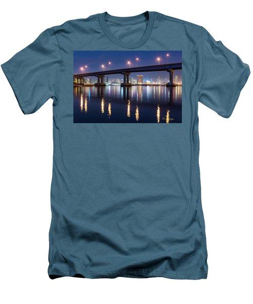 Downtown Men's T-Shirt (Athletic Fit)