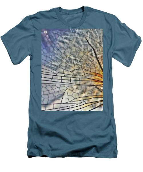 Dragonfly Wing Men's T-Shirt (Athletic Fit)