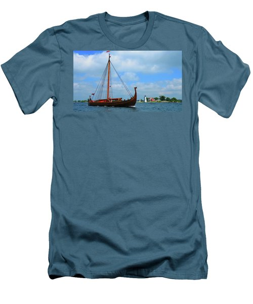 The Draken Passing Rock Island Men's T-Shirt (Athletic Fit)