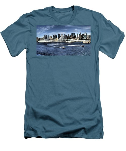 Dramatic New York City Men's T-Shirt (Athletic Fit)