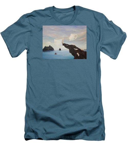 Dream Commute Men's T-Shirt (Athletic Fit)
