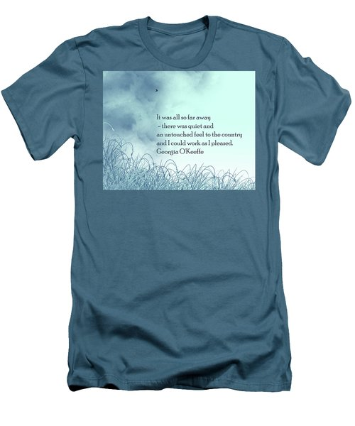 Dream Home Men's T-Shirt (Slim Fit) by Trilby Cole