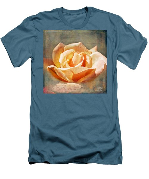 Men's T-Shirt (Slim Fit) featuring the photograph Dream by Linda Lees