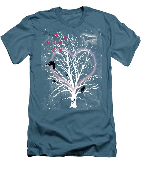 Dreamcatcher Tree Men's T-Shirt (Slim Fit) by Methune Hively