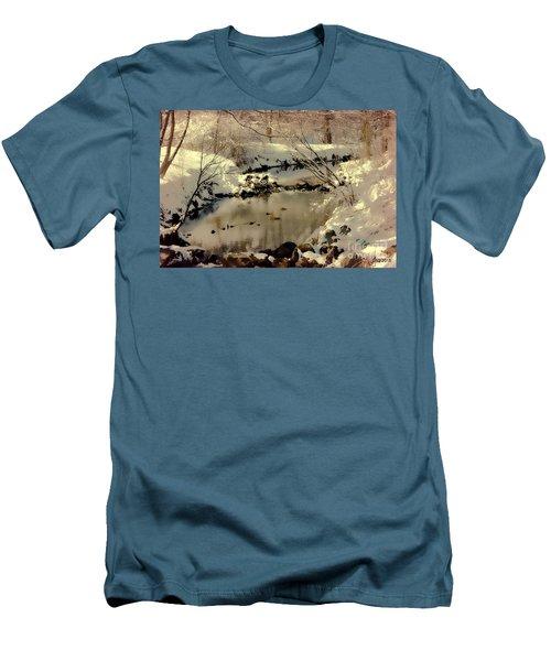 Dreams Come To Light Men's T-Shirt (Athletic Fit)