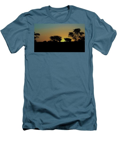 Dreams Of Namibian Sunsets Men's T-Shirt (Slim Fit) by Ernie Echols