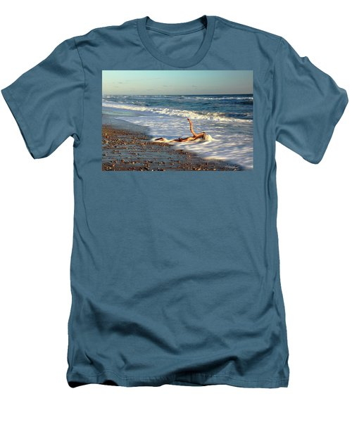 Driftwood In The Surf Men's T-Shirt (Athletic Fit)