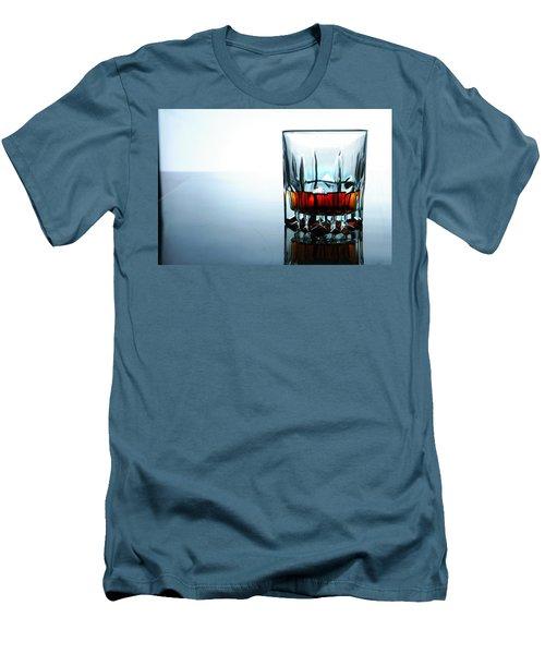 Drink In A Glass Men's T-Shirt (Slim Fit) by Jun Pinzon