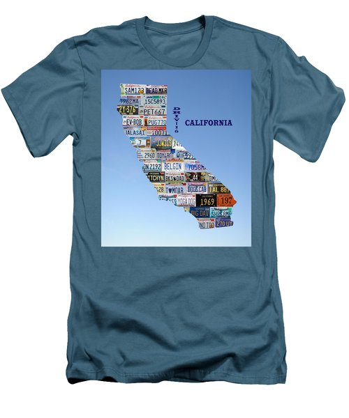Driving California Men's T-Shirt (Slim Fit)