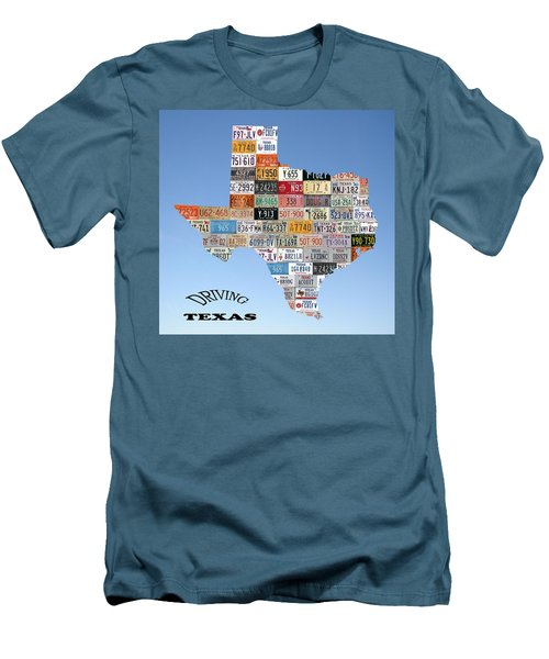 Driving Texas Men's T-Shirt (Slim Fit)