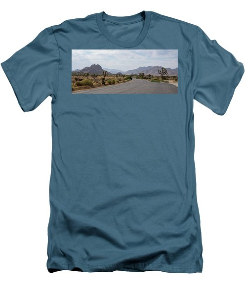 Driving Through Joshua Tree National Park Men's T-Shirt (Athletic Fit)