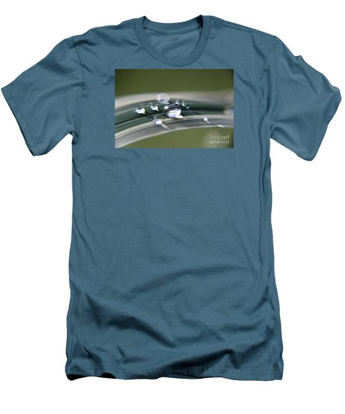 Droplet Families  Men's T-Shirt (Slim Fit) by Yumi Johnson