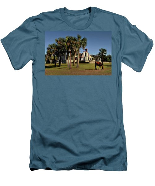 Men's T-Shirt (Slim Fit) featuring the photograph Dungeness  by Jessica Brawley