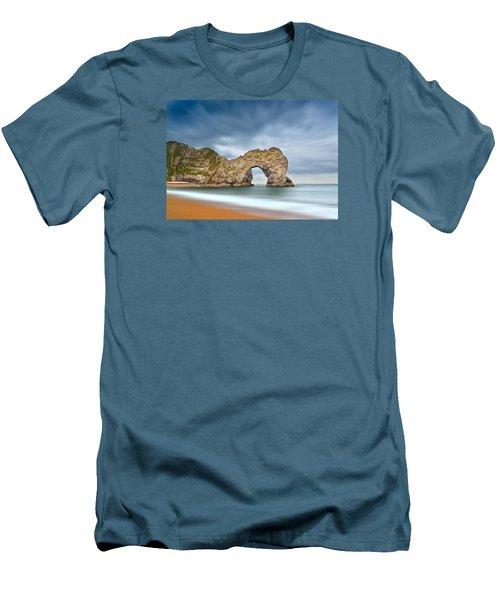 Durdle Door 1 Men's T-Shirt (Athletic Fit)