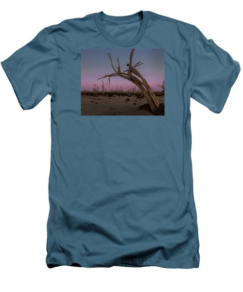 Dusk At Dumbleyung Lake Men's T-Shirt (Athletic Fit)