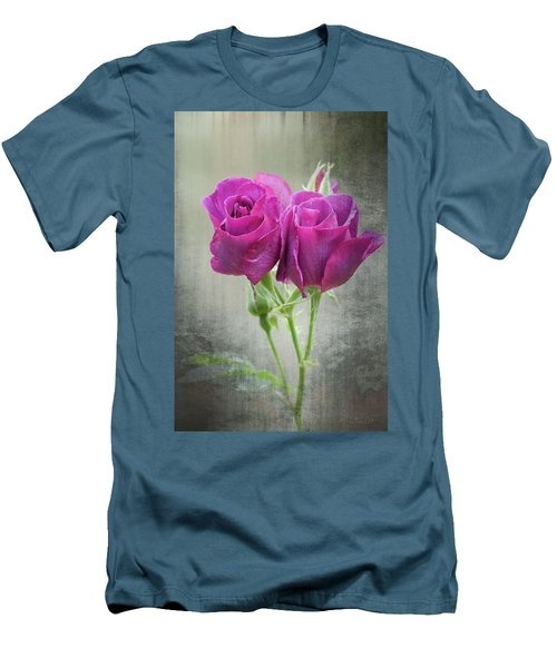 Dusty Roses Men's T-Shirt (Athletic Fit)
