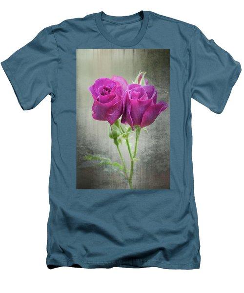 Dusty Roses Men's T-Shirt (Athletic Fit)