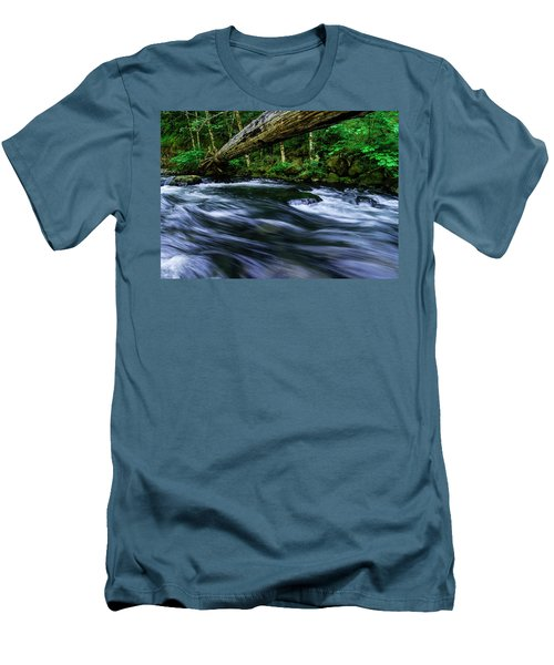 Eagle Creek Rapids Men's T-Shirt (Athletic Fit)
