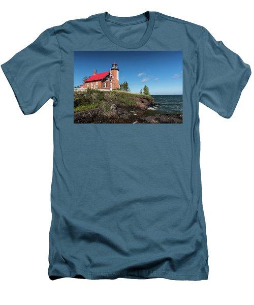 Eagle Harbor Lighthouse Men's T-Shirt (Athletic Fit)