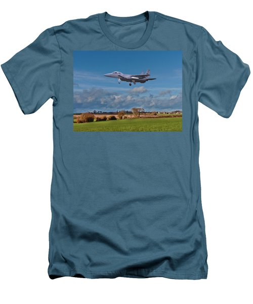 Eagle On Finals Men's T-Shirt (Athletic Fit)