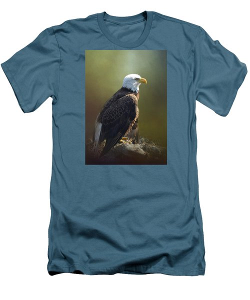Eagles Rest Ministries Men's T-Shirt (Slim Fit) by Carla Parris