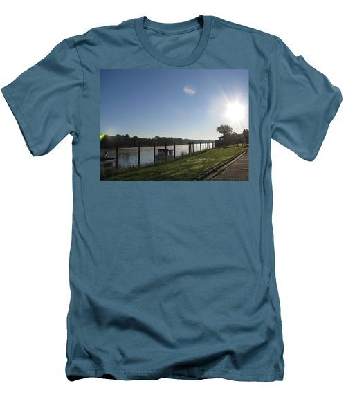 Early Morning On The Savannah River Men's T-Shirt (Athletic Fit)
