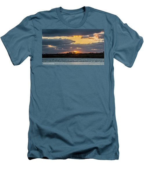 Early Sun Men's T-Shirt (Slim Fit) by Nance Larson