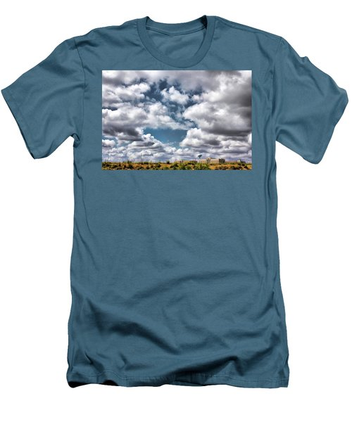 Earthbound - Live Oak Texas Men's T-Shirt (Slim Fit) by Wendy J St Christopher