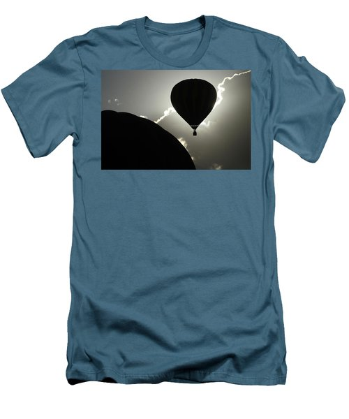Men's T-Shirt (Slim Fit) featuring the photograph Eclipse by Marie Leslie