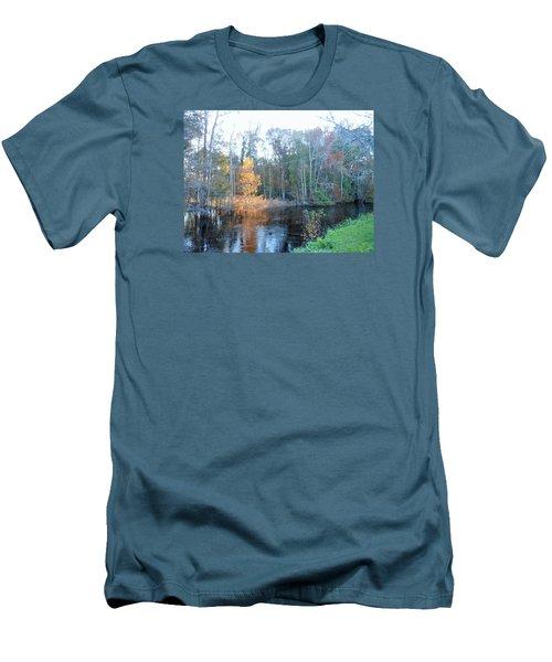 Edisto River Men's T-Shirt (Slim Fit) by Kay Gilley