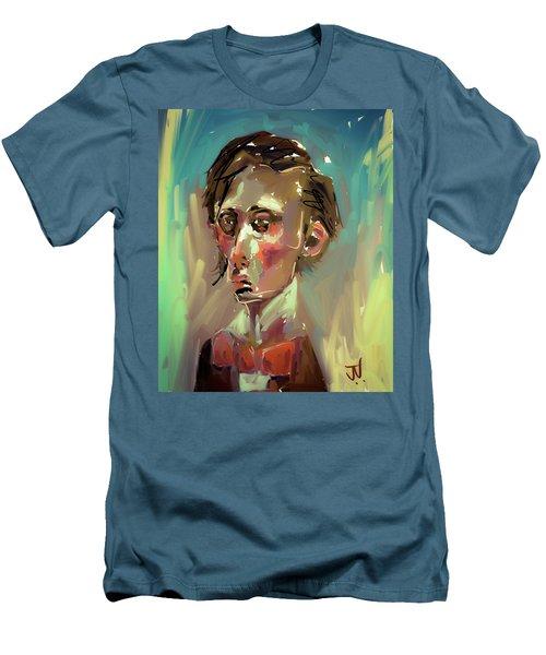 Men's T-Shirt (Athletic Fit) featuring the digital art Edmond by Jim Vance