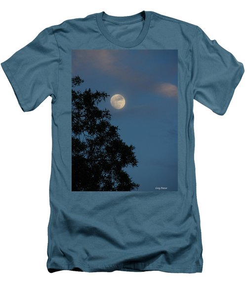 Men's T-Shirt (Slim Fit) featuring the photograph Eight Thirty Two Pm by Greg Patzer