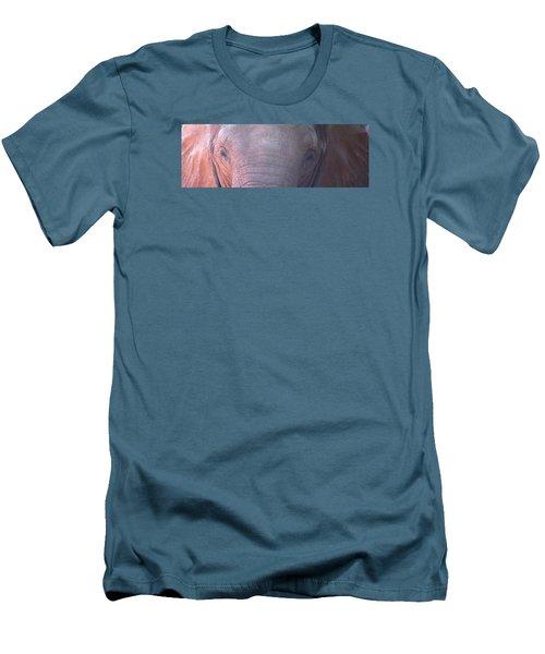 Elephant Ears Men's T-Shirt (Athletic Fit)