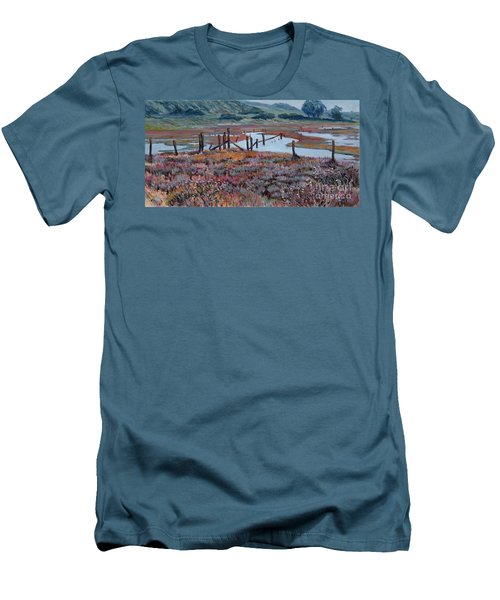Elkhorn Slough Morning Men's T-Shirt (Athletic Fit)