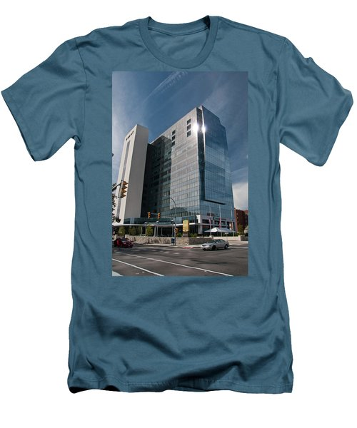 Men's T-Shirt (Slim Fit) featuring the photograph Embassy Suites 2916 by Guy Whiteley
