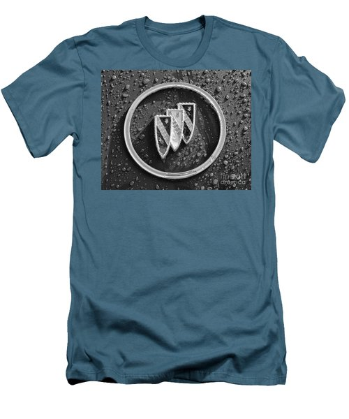 Men's T-Shirt (Slim Fit) featuring the photograph Emblem Mono by Dennis Hedberg