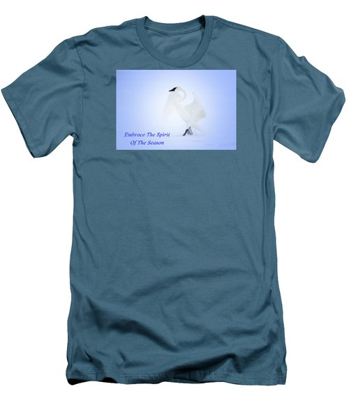 Men's T-Shirt (Slim Fit) featuring the photograph Embrace The Spirit Of The Season by Gary Hall