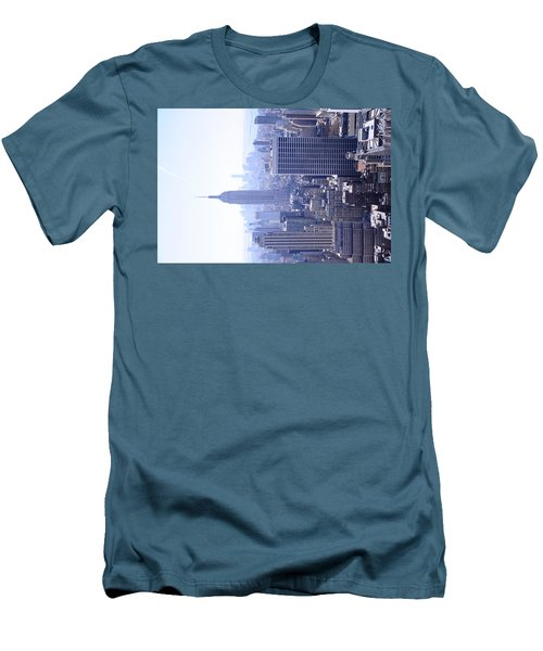 Empire State Building Men's T-Shirt (Slim Fit) by Jeffson Chan