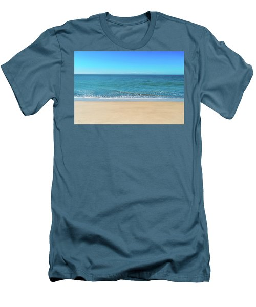 Empty Beach Men's T-Shirt (Athletic Fit)