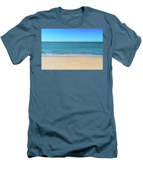Empty Beach Men's T-Shirt (Athletic Fit)