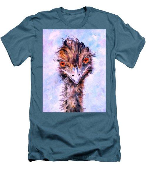 Emu Eyes Men's T-Shirt (Athletic Fit)