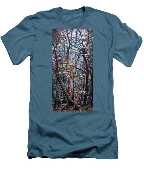 Enchanted Woods Men's T-Shirt (Slim Fit)