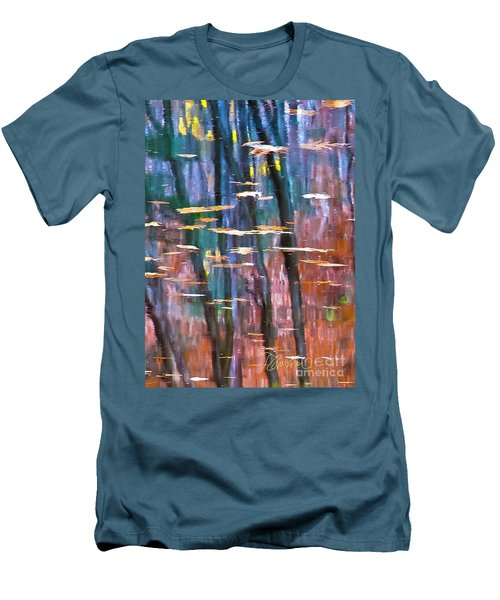 Men's T-Shirt (Slim Fit) featuring the photograph Enders Reflection by Tom Cameron