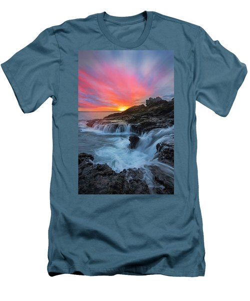 Endless Sea Men's T-Shirt (Slim Fit) by James Roemmling