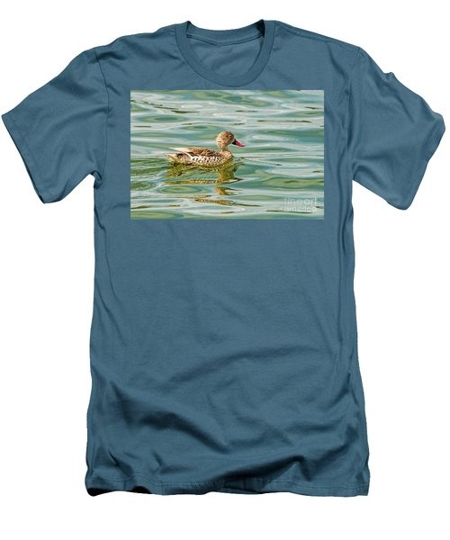 Enjoying Men's T-Shirt (Slim Fit) by Pravine Chester