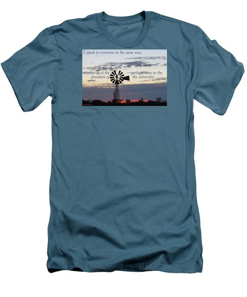 Men's T-Shirt (Slim Fit) featuring the photograph Equal In God's Eye by David Norman
