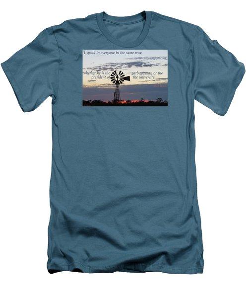 Equal In God's Eye Men's T-Shirt (Athletic Fit)